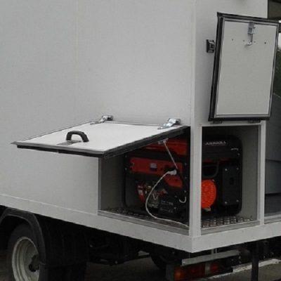 Виброизоляция генератора, компрессора